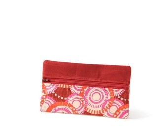 Bag In Bag Organizer - Cosmetic Organizer Bag - African Print Fashion - Small Purse Organizer - Style Hippie Chic - Small Toiletry Bag