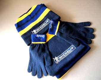 FREE SHIPPMENT!Michelin souvenirs,Michelin hat,Michelin gloves,Michelin scarf,Michelin set,Michelin accessories,winter accessories,