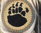 Native American Leather Bag/Medicine Bag Bob Manygoats A106
