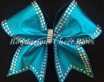 Custom Rhinestone Cheer Bow