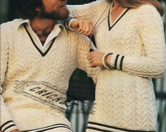 Knitting Pattern For Cricket Sweater : Cricket sweater Etsy
