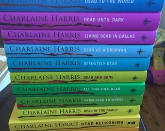 True blood 12 books by author Charlaine Harris