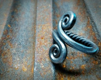 Hand Forged Ring Made To Size