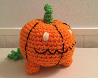 Made to Order: Crochet Amigurumi Pet Pumpkin Doll