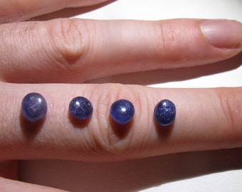 Sapphire Natural Unheated Color Change Cabochon Gemstone Burma