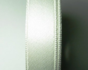 30 meters Satin ribbon 6mm White