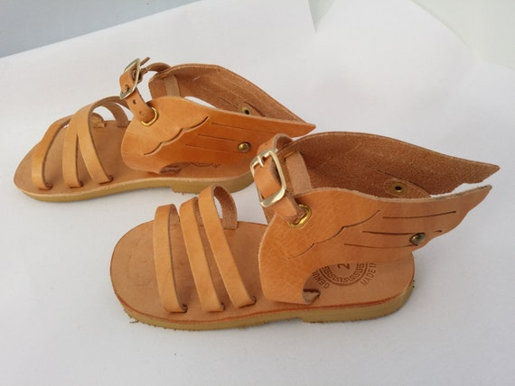 Hermes Baby Gifts Uk : Hermes design kids sandals handmade greek children by
