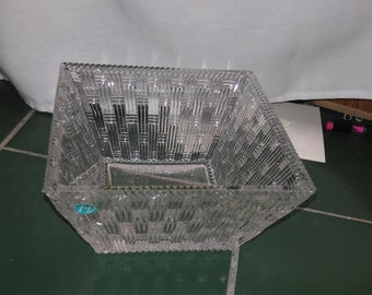 Tiffany and Company Crystal Basket