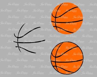 Basketball SVG DXF EPS, basketball svg, svg cutting file for Cricut Silhouette, basketball svg design, basketball files, svg files, cricut