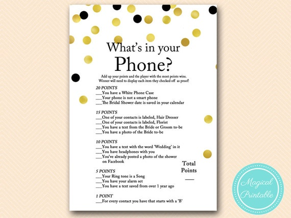 Challenger image throughout what's in your cell phone game free printable