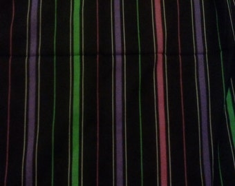 Clearance was 70 now 40. 80s Geometric Pattern Sheer Fabric ca.1989