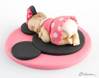 Minnie cake topper Etsy