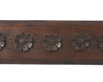 Carved Wood Panel 19th