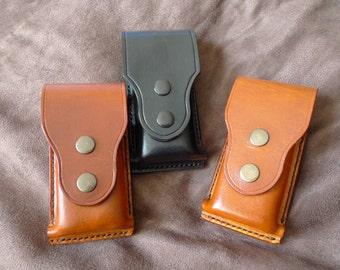 SCKLeather Handmade  Veg Tanned Leather Multi-tool belt holster/Case