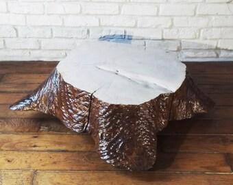 "Table low tree ""stump"""