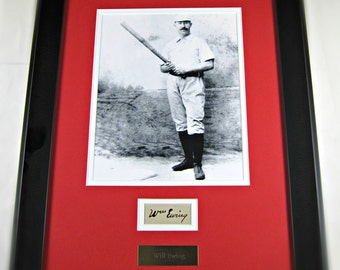 "Will ""Buck"" Ewing cut signature display"
