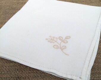 Vintage large napkin