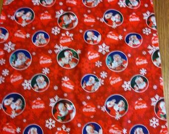 COCA COLA Christmas Pillowcase