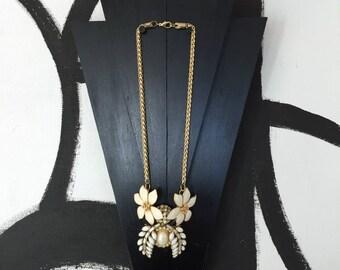 necklace comprising of vintage parts