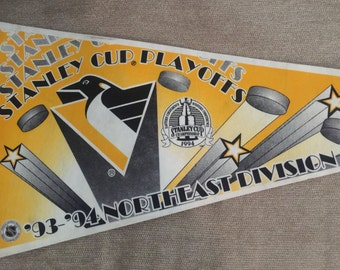 Stanley Cup Playoffs 1994 Pennant Pittsburgh Penguins