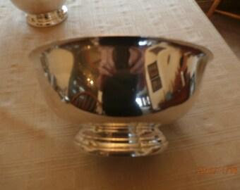 JE Caldwell Silver Bowl