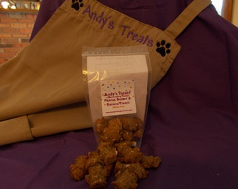 Peanut Butter and Banana Treats (Gluten Free) -Gourmet Dog Treats