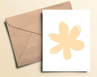 Flower Note Cards – Boxed Set of 10 With Envelopes