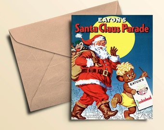 Eaton's Santa Claus Parade Note Cards - Boxed Set of 6 with Envelopes