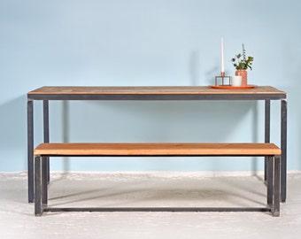 Dining room set | Table KERKRADE & Bank BOXI