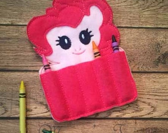 Crayon holder - Arts and crafts for kid - Travel activity - Quiet activity for kids