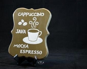 Cappuccino, java, mocha, espresso, coffee bar, kitchen, gift