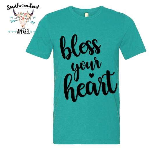 Bless Your Heart Unisex T Shirt, Country T Shirt, Southern T Shirt, Country Shirt, Concert Shirt, Boutique Shirt