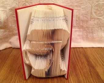Kitchen mixer book folding pattern