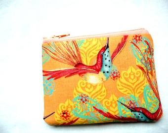 Hummingbird coin purse