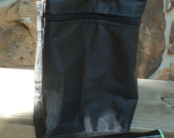 Black Square Marker Holder Bag