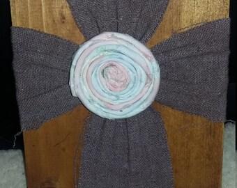 Small Fabric Cross