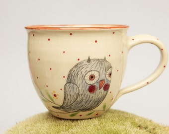 Wise owl cup