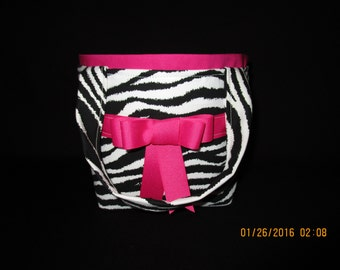 Little Girls' Zebra print Purse