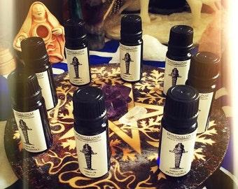 Sabbat magic oils