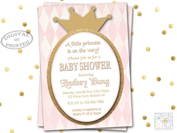 princess baby shower invitations baby shower princess invitations