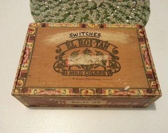 El Roi-Tan Vintage cigar box