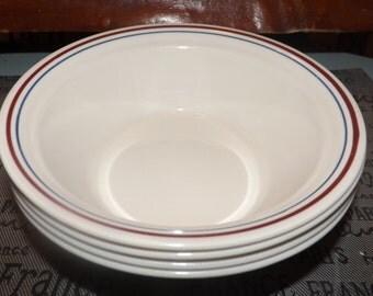White Corelle Bowls Etsy