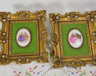 Turner wall accessory, Turner frames, vintage small square frames