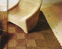 Unique Jute Rug Related Items Etsy