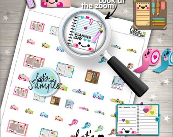 60%OFF - Planner Stickers, Printable Planner Stickers, Washi Tape Stickers, Kawaii Stickers, Notebook Stickers, Planner Accessories