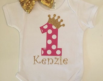 Princess Birthday Shirt/Onesie