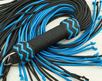 Paracord Flogger - Small Knotted Falls