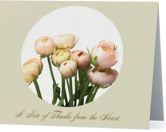 Thank You for Sympathy - Set of 5 Notecards