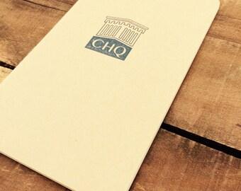 CHQ Journal or Sketchbook