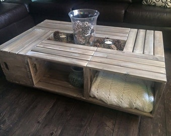 Barnwood Crate tables